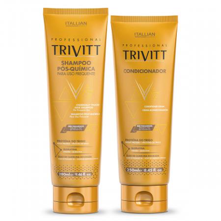 Itallian Trivitt Pós Química Kit Shampoo + Cond ( 2x 250ml)
