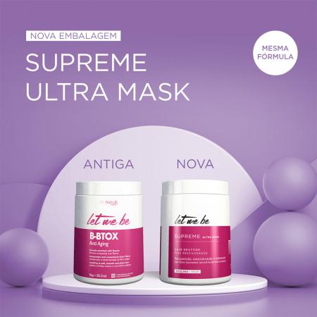 Let Me Be Redutor Supreme Liss Control + Supreme Ultra Mask 1Kg