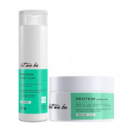 Let Me Be Home Care Manutenção Protein - Kit Shp + Mask