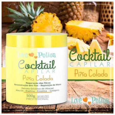 Love Potion Cocktail Capilar Piña Colada Reconstrução 500g