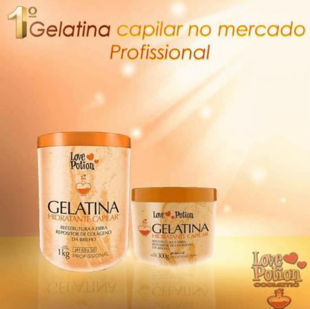 Love Potion Gelatina Capilar Hidratante
