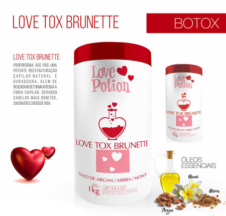 LoveTox Brunette Bt-o.x Love Potion 1kg