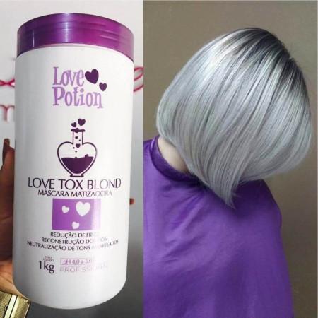 Love Potion Love Tox Blond Creme Alisante Matizador 1kg