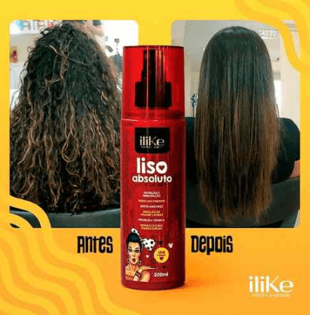 ILike Liso Mágico Absoluto Fluido Termoativado - 200ml