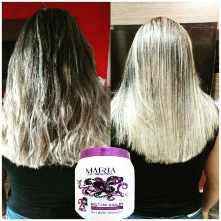 Maria Escandalosa Bt-o.x Violet Matizador Loiras - 250g