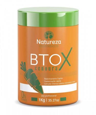 Bt-o.x de Cenoura Sem Formol 1Kg Natureza Cosméticos