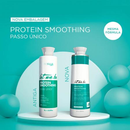 Progressiva Protein Smoonthing 1Litro + Mascara Biorestore 250g