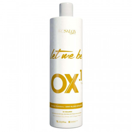 Let Me Be OX.1 Oxigenada 10 Descolorante 900ml