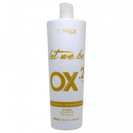 Let Me Be OX.2 Oxigenada 20 Descolorante 900ml