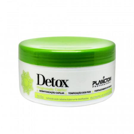 Plancton Detox Oxigenação Capilar Mascara Tratamento 250g