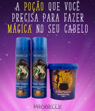 Probelle Kit Poção Mágica Shampoo + Condicionador + Máscara 500g