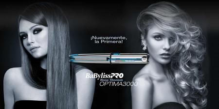 Prancha Super Nano Titanium Babyliss PRO OPTIMA3000 220v