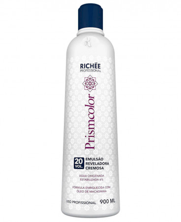 Richée Prismcolor Emulsão Reveladora Cremosa OX 20 Vol. 900ml