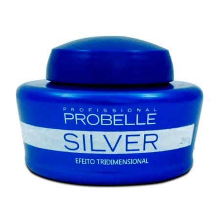 Probelle Silver Máscara Matizadora Efeito Tridimensional 250gr