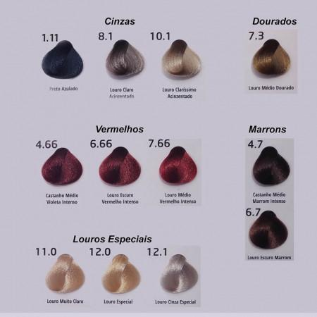 Probelle Coloração Especialista 2.8 Preto Azulado Pérola