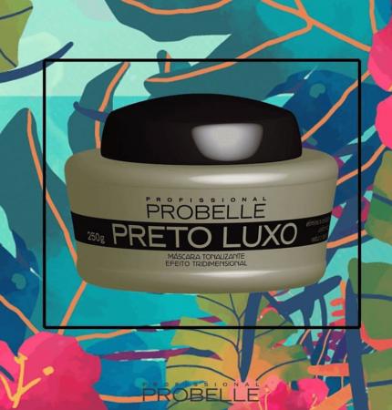 Probelle Máscara Tonalizante Preto Luxo 250g (Nova embalagem)