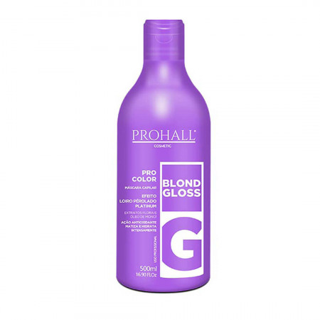 Prohall Blond Gloss Máscara Matizadora 500ml