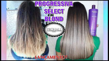 Prohall Escova Progressiva Select Blond S/ Formol 1 Litro