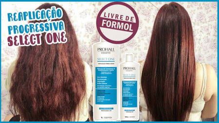 Prohall Kit Escova Progressiva S/Formol Select One + Select Blond