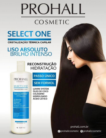 Prohall Escova Progressiva Select One 1Litro