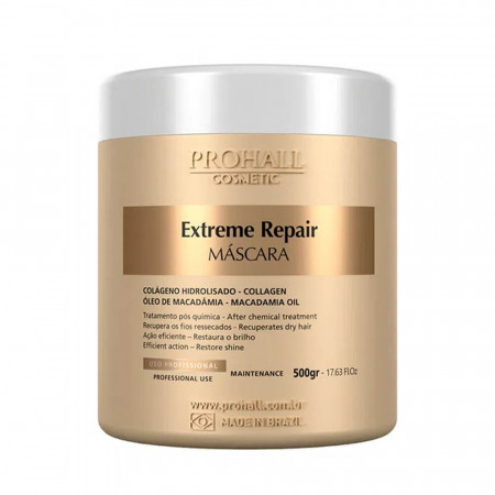 Prohall Extreme Repair Máscara Ultra Nutritiva 500g