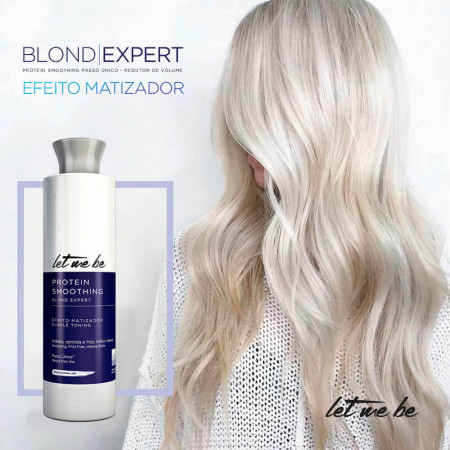 Let Me Be Progressiva Matizadora Protein Smoothing Blond 500ml