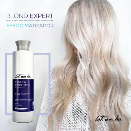 Let Me Be Progressiva Blond Expert Matizadora - Pequena 500ml