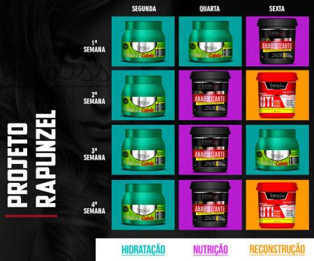 Forever Liss Cronograma Capilar Projeto Rapunzel