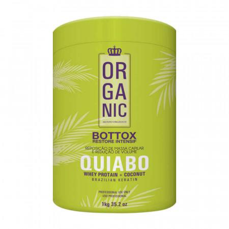 Bt-o.x Capilar de Quiabo Organic Mundo Orgânico 1Kilo