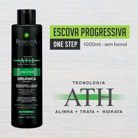 Rubelita Escova Progressiva One Step Orgânica Sem Formol 1Litro