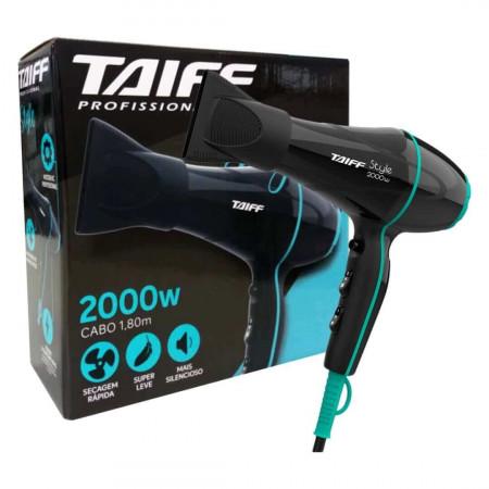 Secador De Cabelo Taiff Style Profissional 2000w - 110v