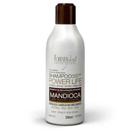 Forever Liss Shampoo Mandioca Power Life 300ml