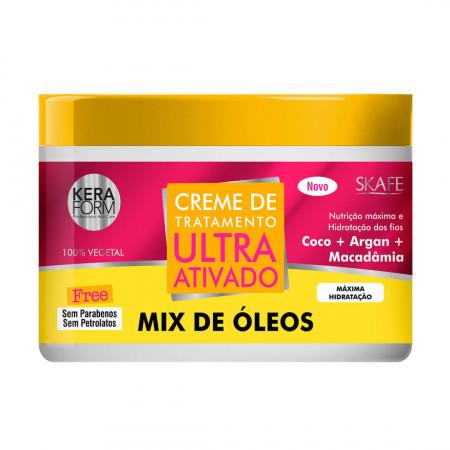 Skafe Mix de Óleos Creme de Tratamento Ultra Ativado - 500g