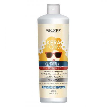 Skafe Keraform Shampoo Camomila Brilho Instantâneo - 500ml