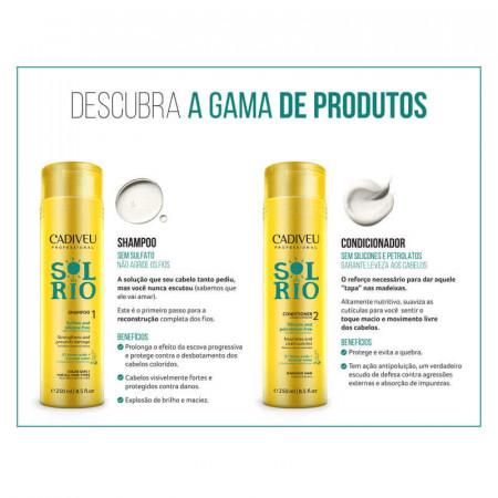 Cadiveu Professional Sol do Rio Shampoo sem Sulfato 250ml