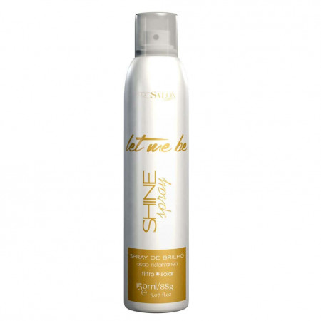 Let Me Be Shine Spray De Brilho Com Filtro Solar -150ml