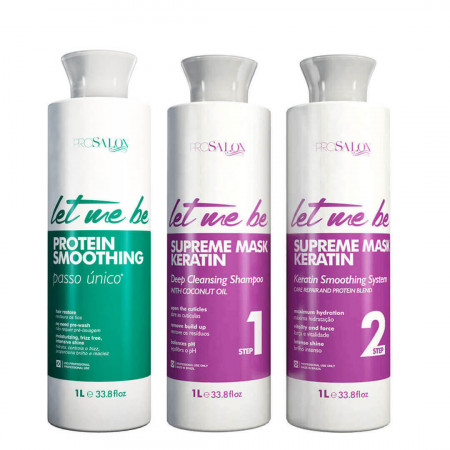 Let Me Be Protein Smoonthing 1L + Redutor Supreme Liss (2x1L)