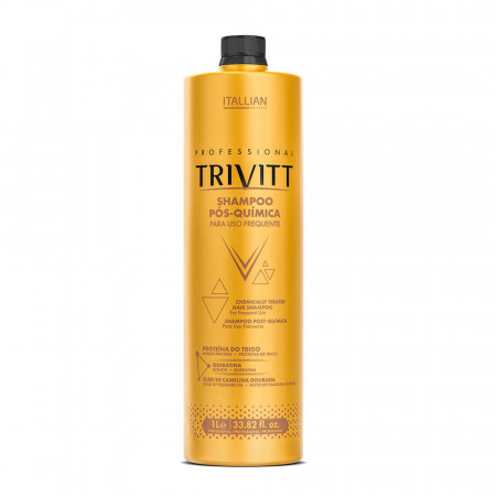 Itallian Trivitt Shampoo Pós Química 1 Litro