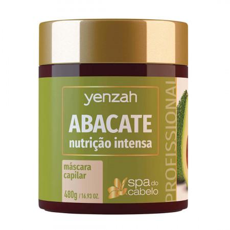 Yenzah SPA dos Cabelos Abacate Máscara Capilar 480g