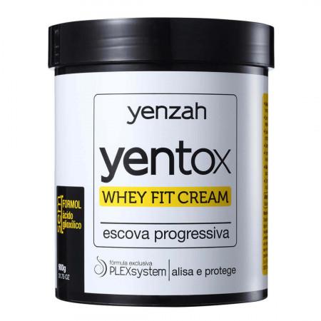Yenzah Yentox 900g Progressiva Sem Formol Whey Fit Cream