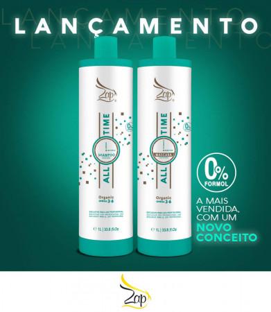 escova progressiva zap organica Nova embalagem