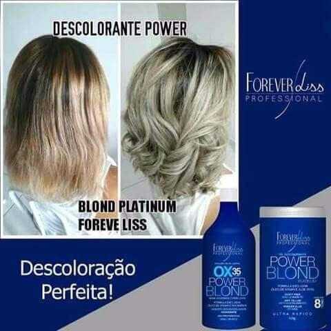 Power Blond + Pó Descolorante